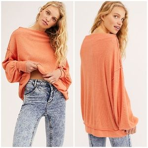 nwt // free people main squeeze haaci top